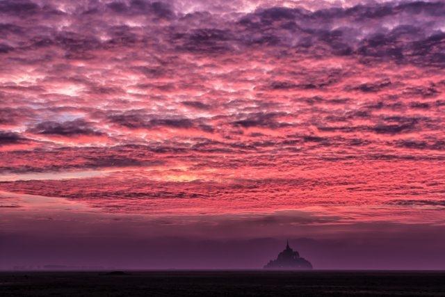 Небо с облаками розовыми   фото и картинки 011