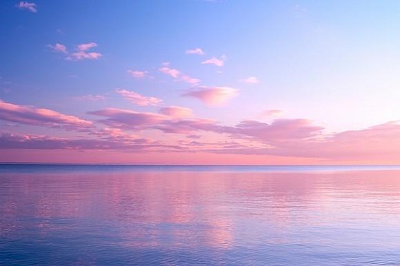 Небо с облаками розовыми   фото и картинки 012