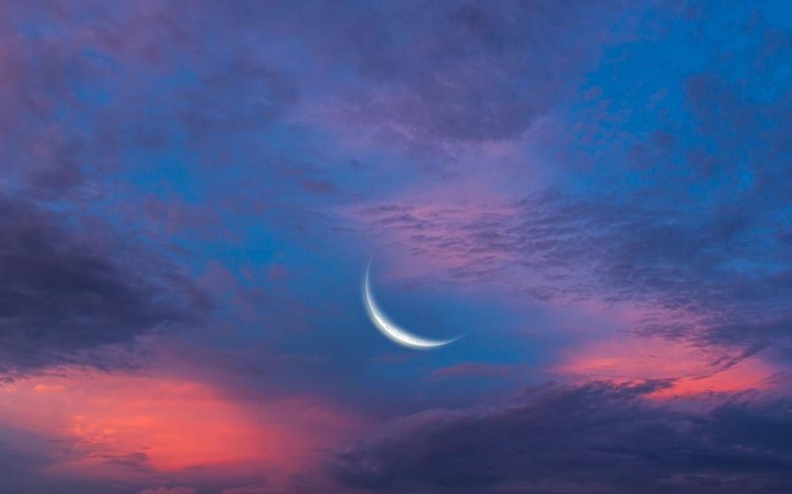 Небо с облаками розовыми   фото и картинки 014