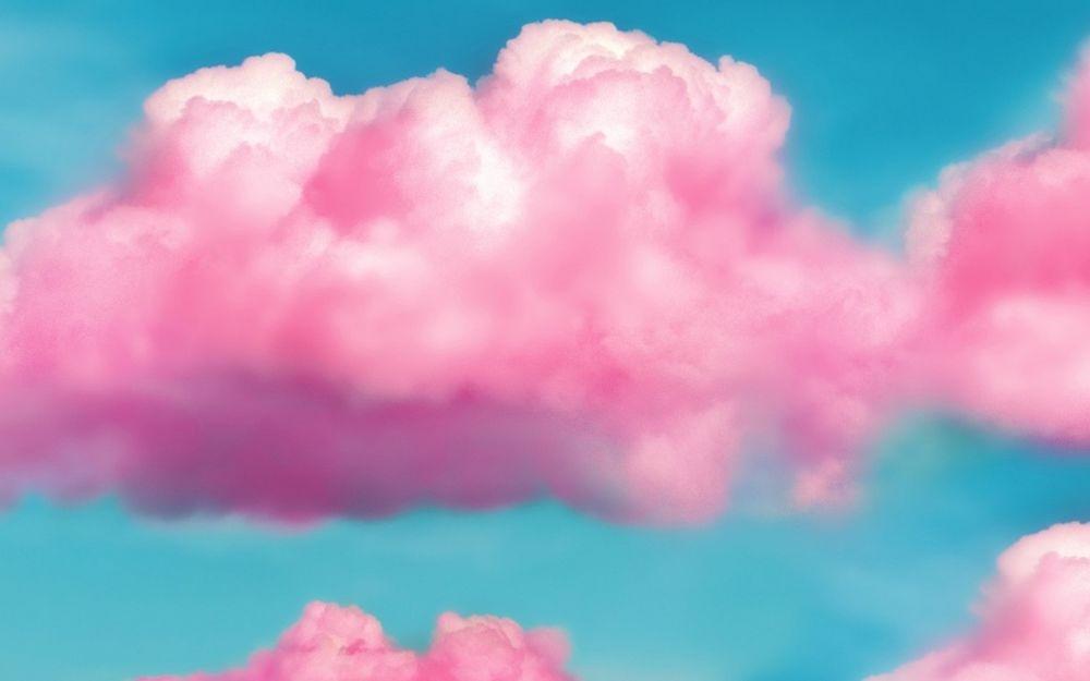 Небо с облаками розовыми   фото и картинки 015