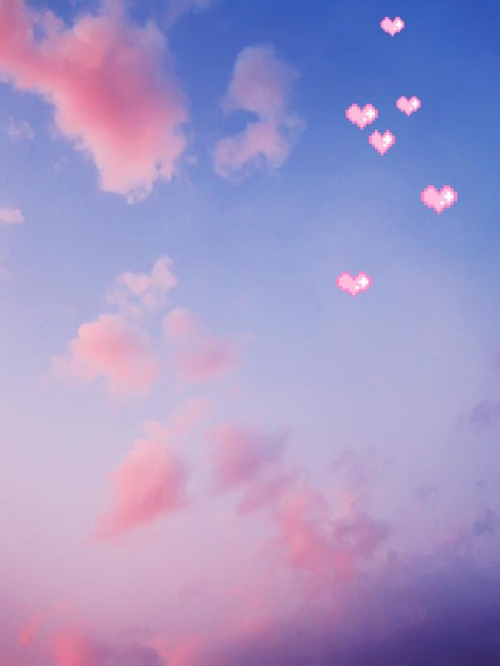 Небо с облаками розовыми   фото и картинки 024