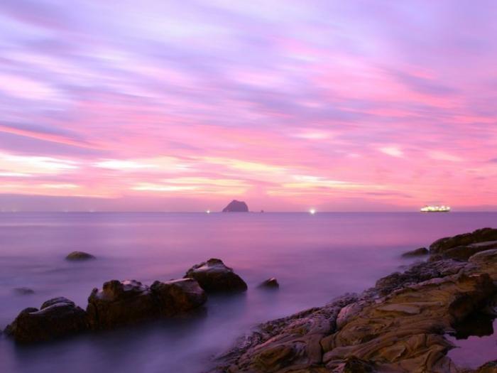 Небо с облаками розовыми   фото и картинки 025