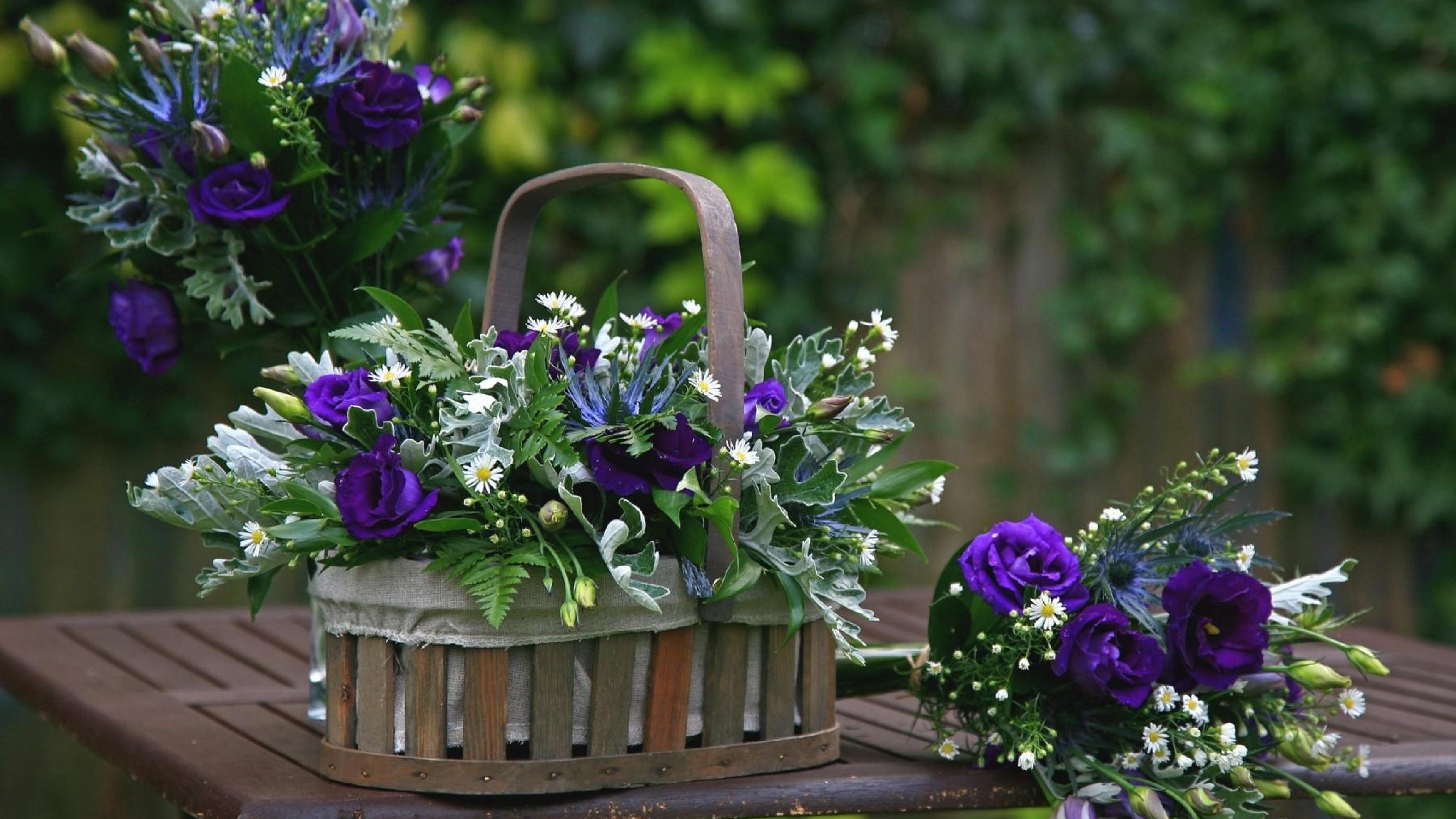 Обои для рабочего стола   цветы букеты композиции (15)