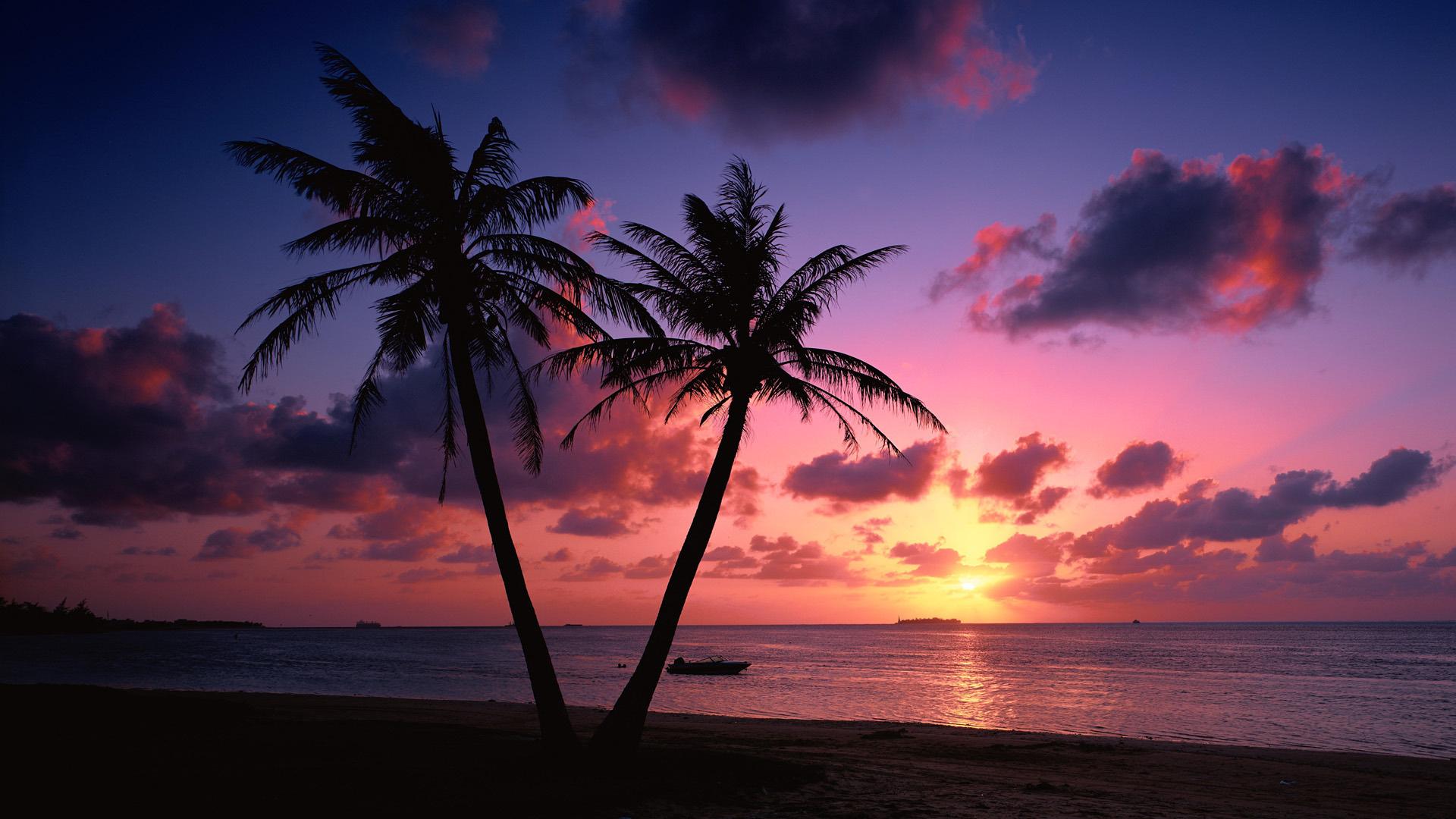 Картинки на рабочий стол море пляж закат