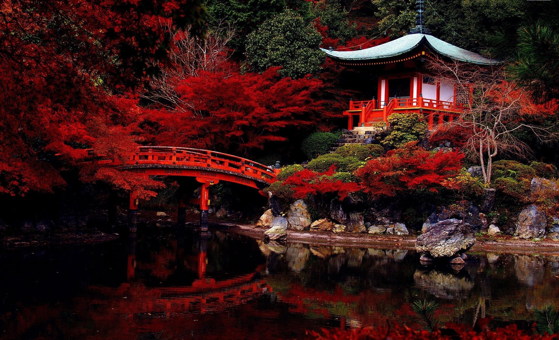 японский сад картинки для рабочего стола блине