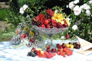 Обои на рабочий стол Фрукты и цветы   подборка (16)