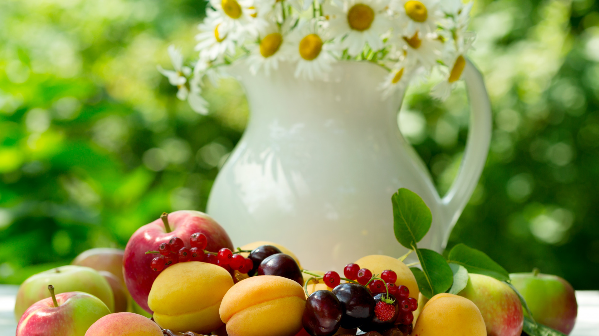 Картинки с цветами и фруктами и добрым утром, днем