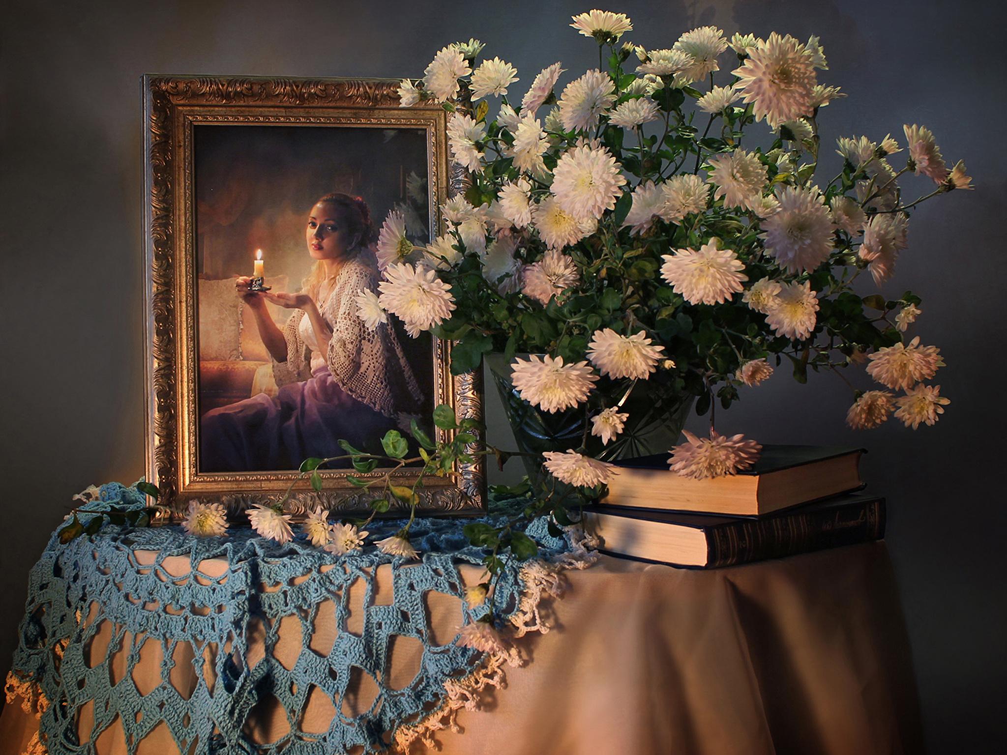 Обои на рабочий стол Цветы хризантемы   подборка (21)