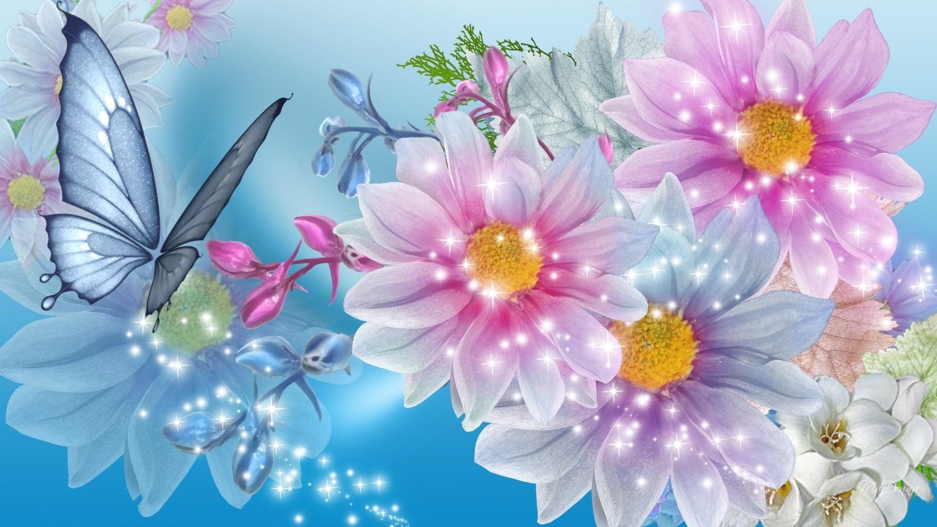 Обои на рабочий стол Цветы хризантемы   подборка (5)