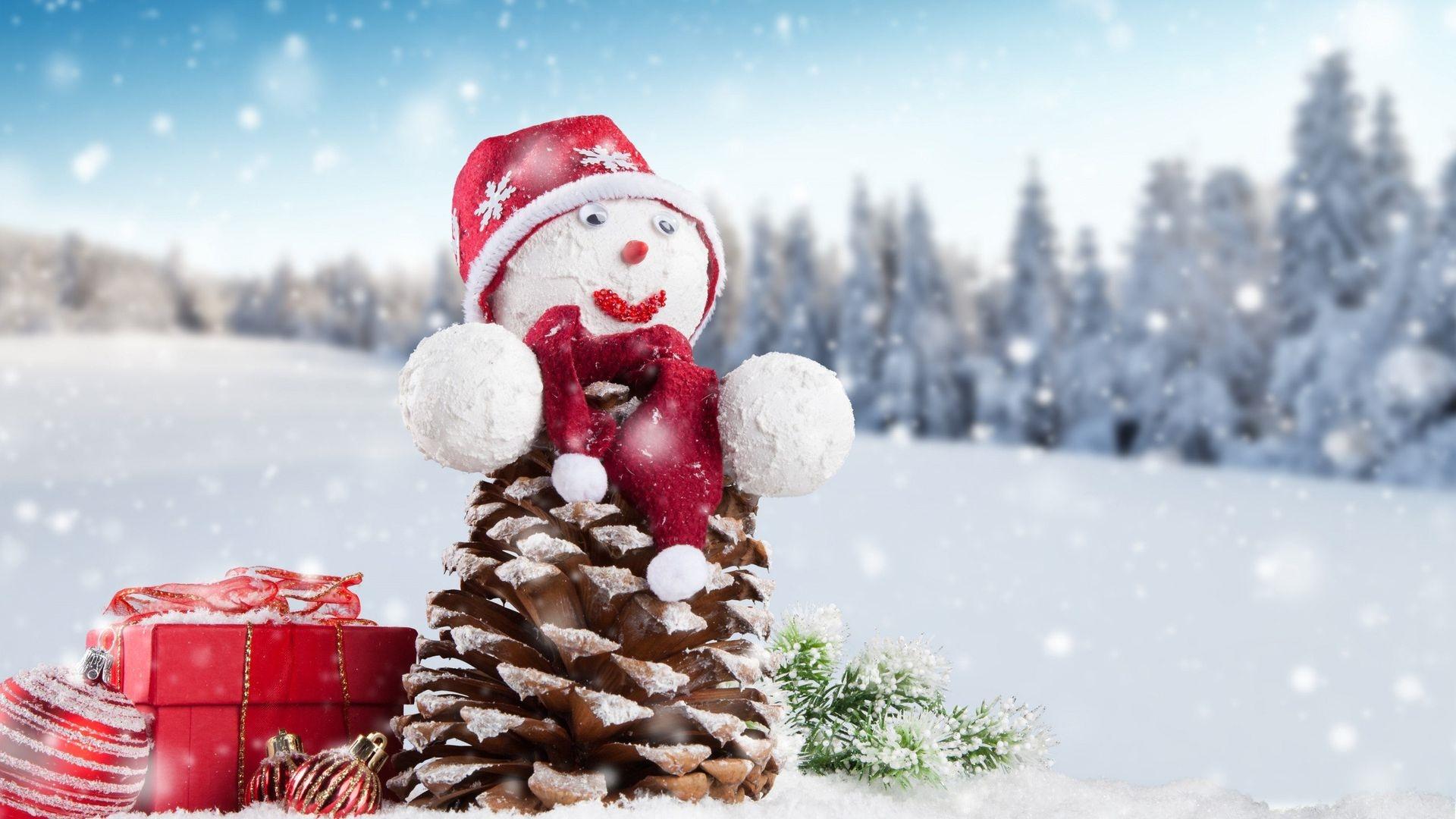 Обои на рабочий стол зима и новый год (11)