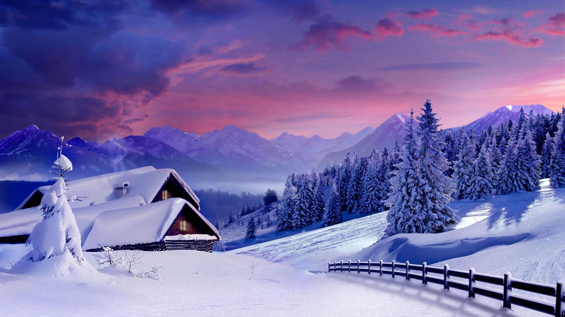Обои на рабочий стол зима и новый год (3)