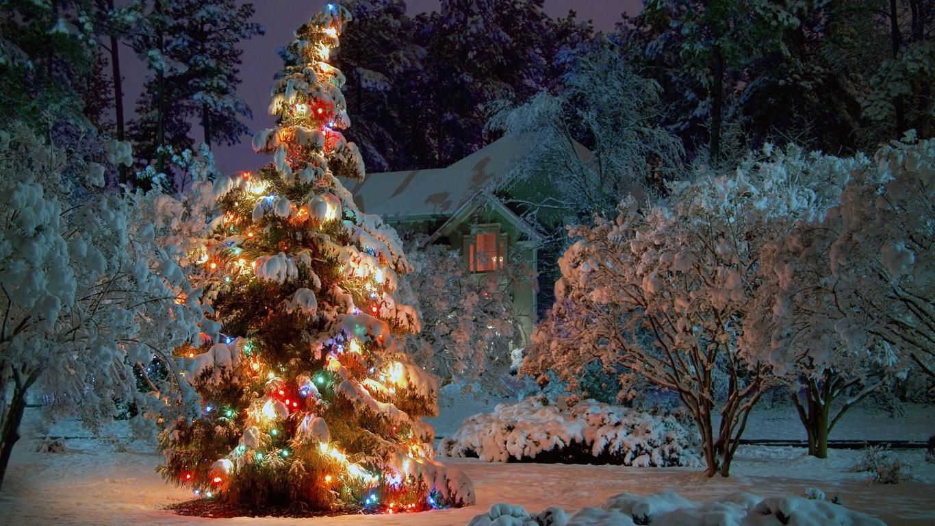 Обои на рабочий стол зима и новый год (4)