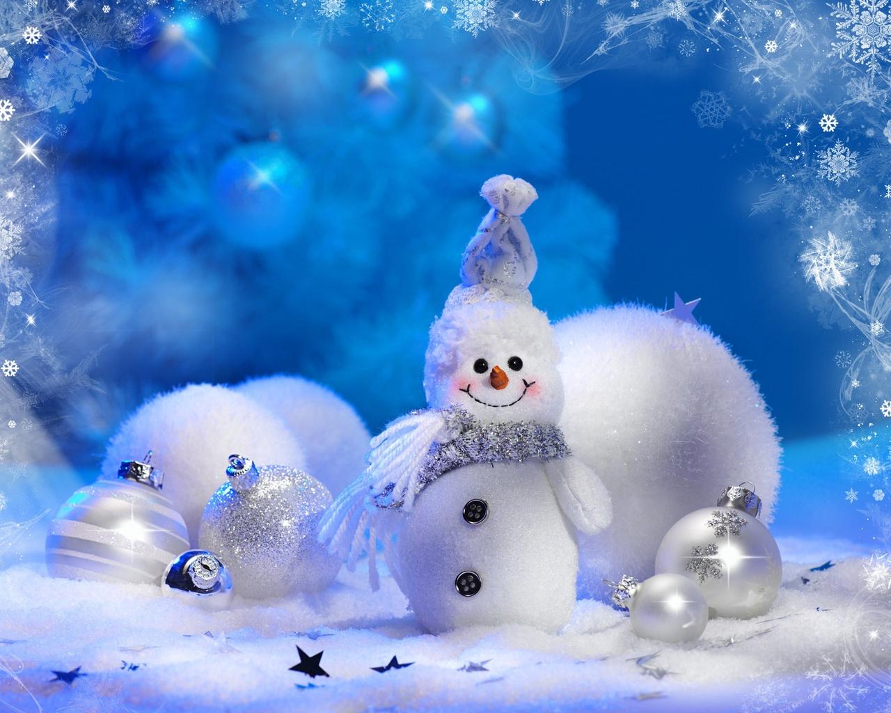 Обои на рабочий стол зима и новый год (5)