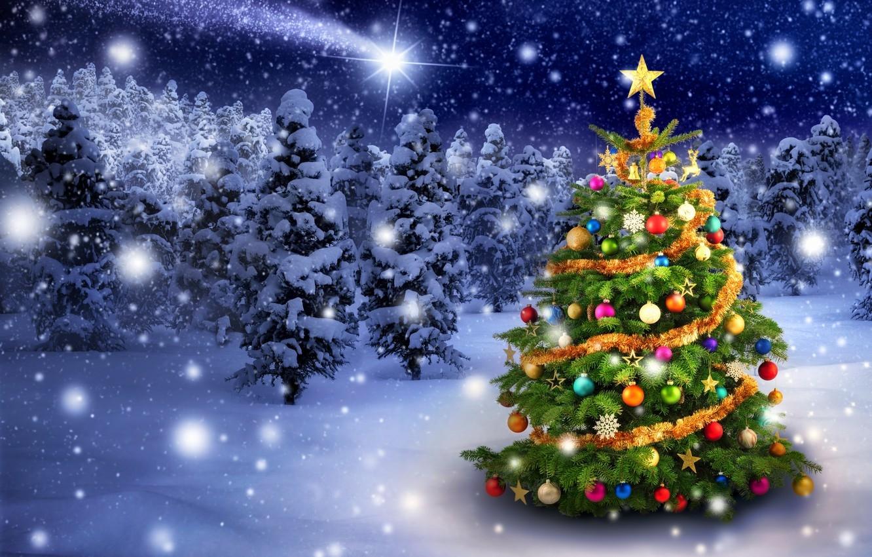 Обои на рабочий стол зима и новый год (7)