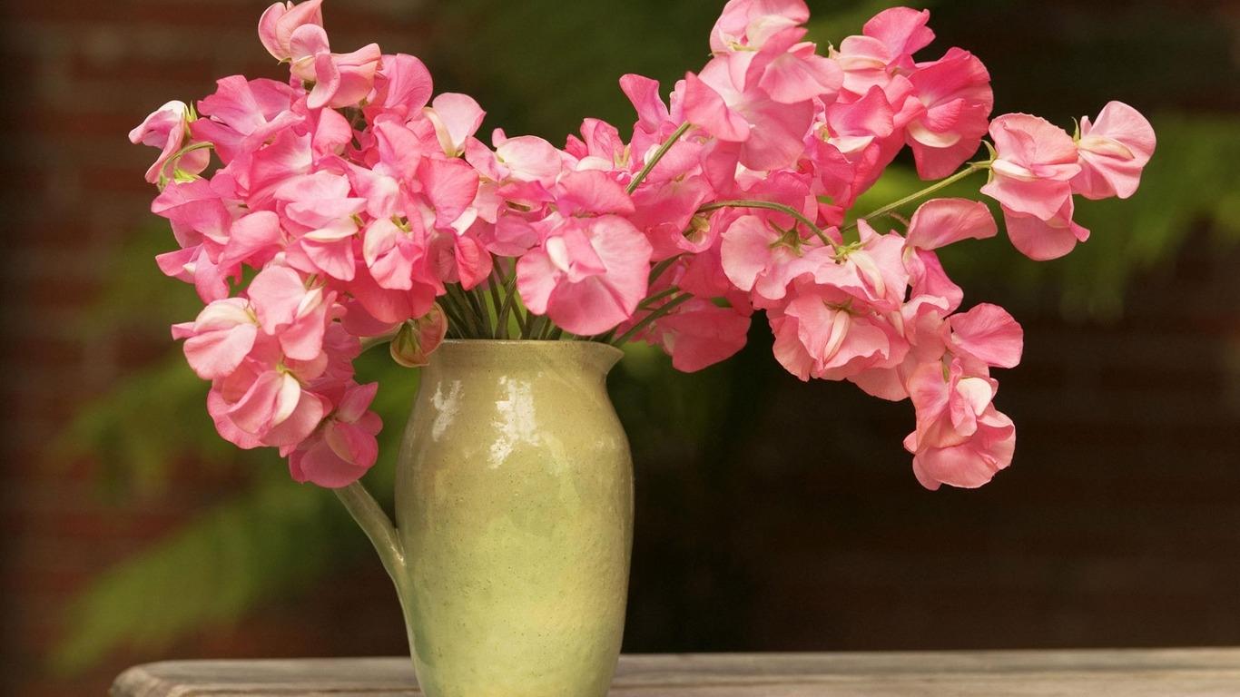 Обои цветы в вазе для рабочего стола   подборка (21)