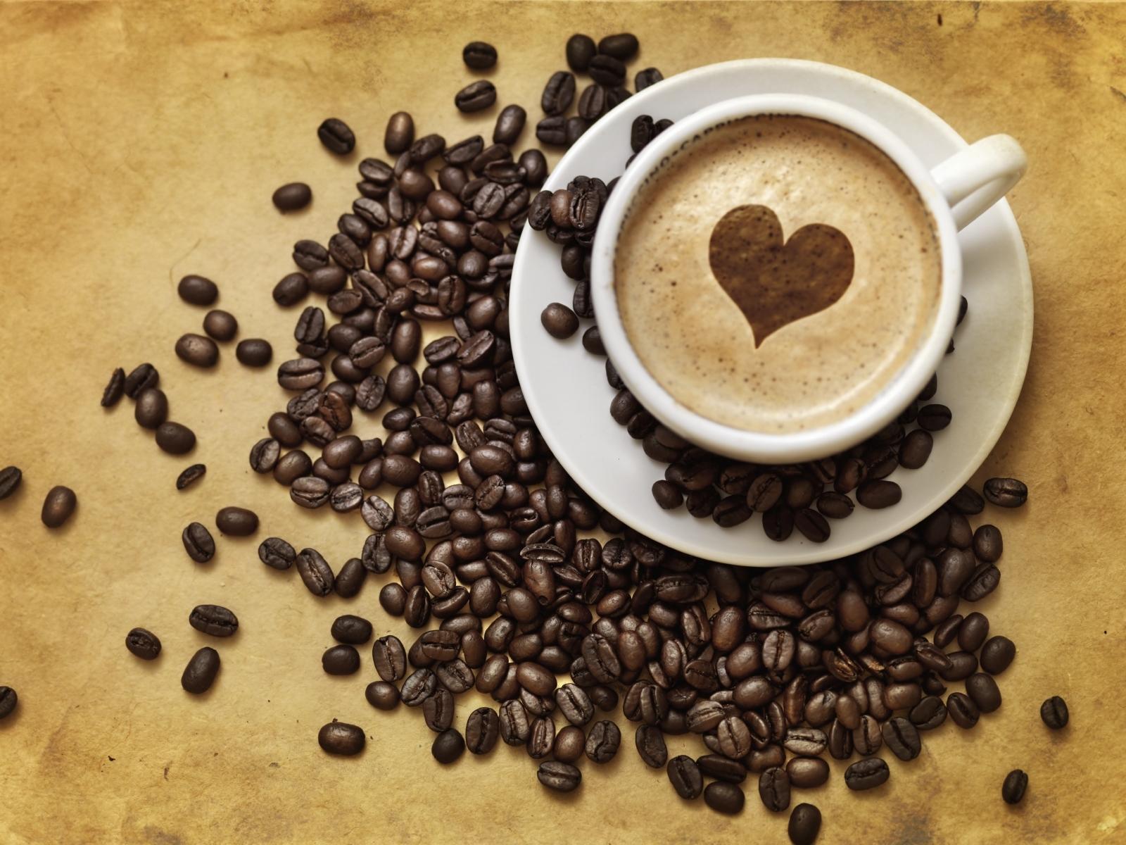 Обои чашка кофе на рабочий стол   подборка019