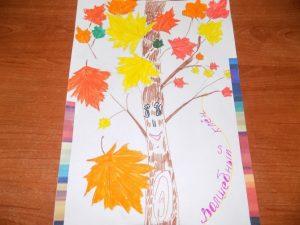 Осень к нам пришла рисунок и картинки 021