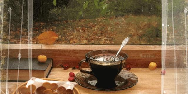 Осень чашка кофе фото   подборка 016