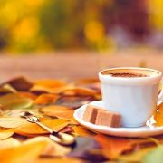 Осень чашка кофе фото   подборка 024