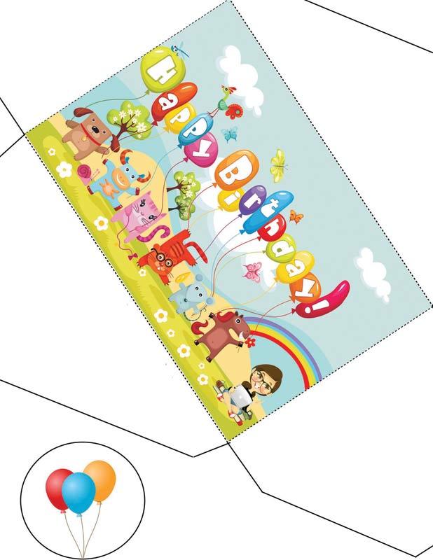 Подругам, распечатать на принтере открытки с днем рождения