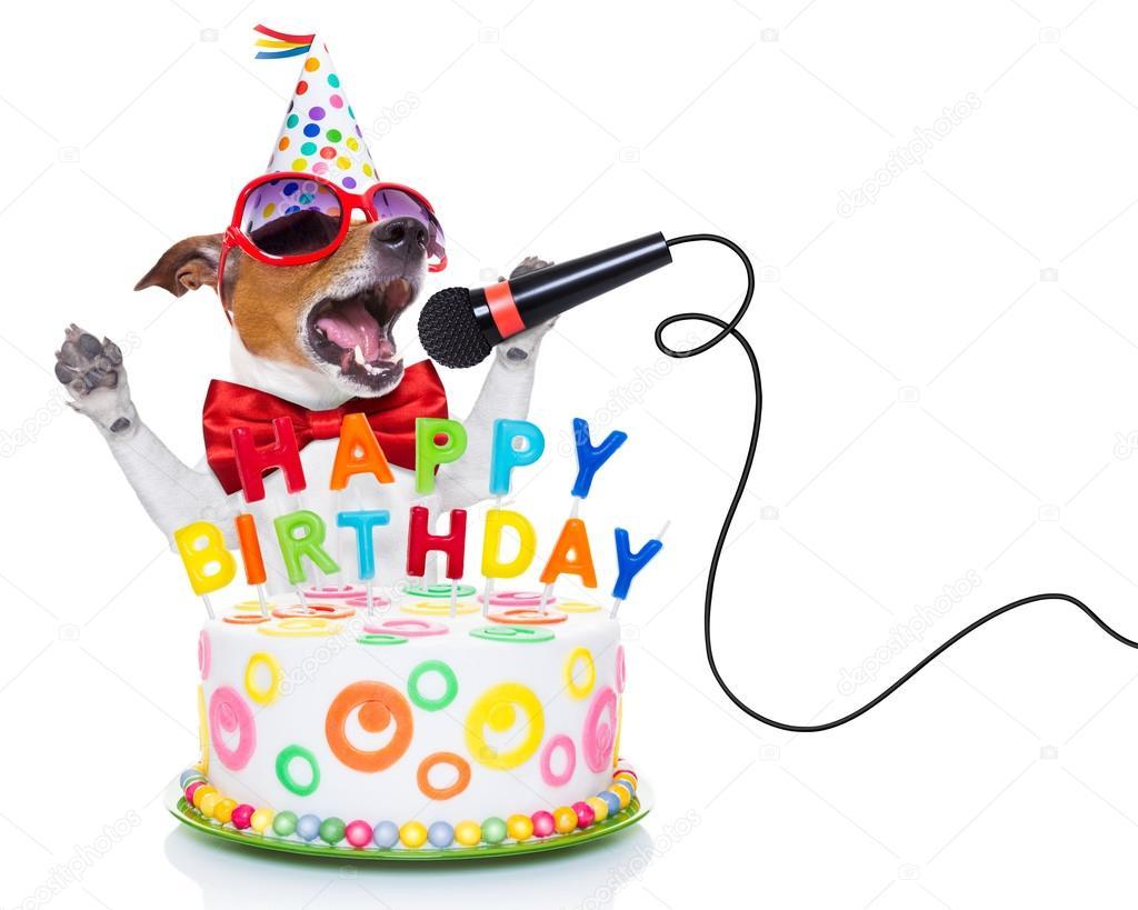Открытка с Днем Рождения с собакой мужчине (31)