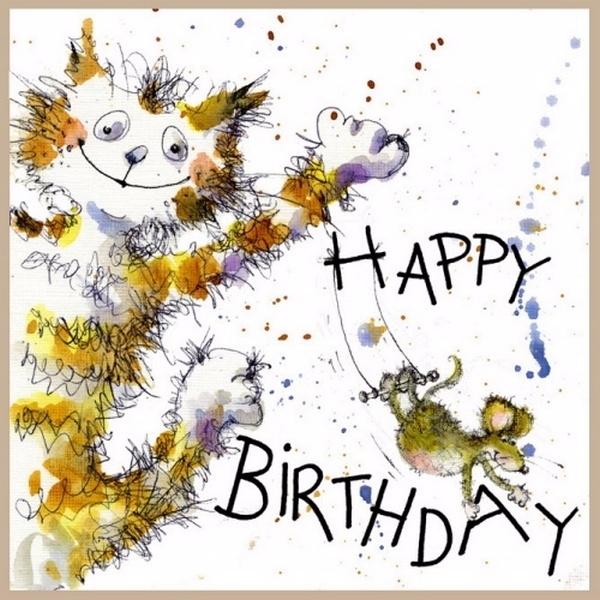 Мультики картинки, красивые открытки с днем рождения художнику