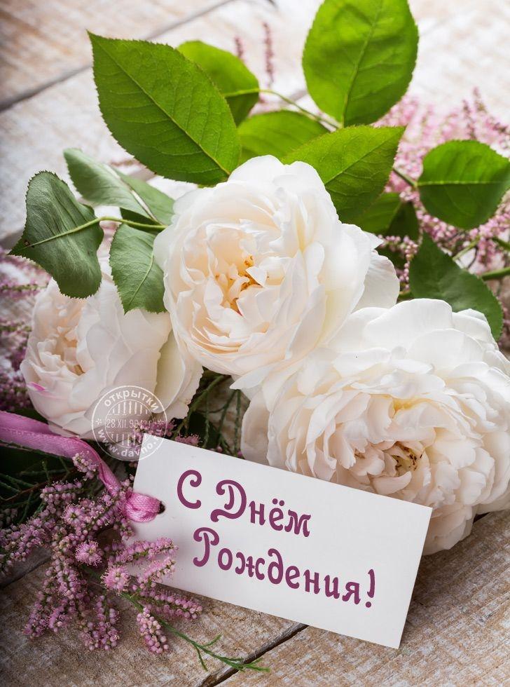 Очень красивые открытки с днем рождения с розами, дню