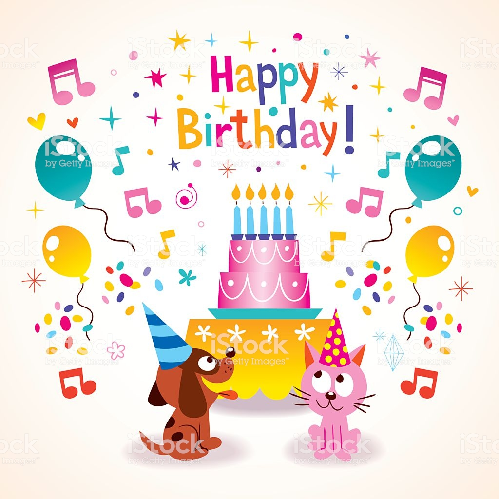 Открытки с Днем Рождения для детей   прикольные и красивые (11)
