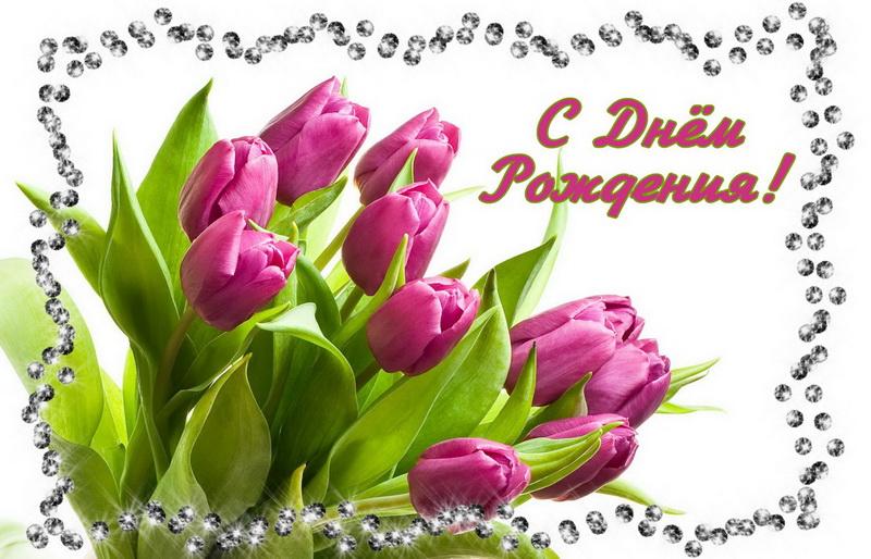 Тюльпаны открытки с днем рождения женщине красивые, веселые