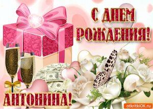 Открытки тоня с днем рождения поздравления 029
