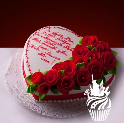 Оформление торта для мамы фото и картинки 001