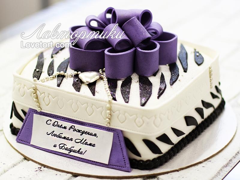 Оформление торта для мамы фото и картинки 004