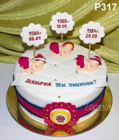 Оформление торта для мамы фото и картинки 007