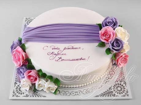 Оформление торта для мамы фото и картинки 010