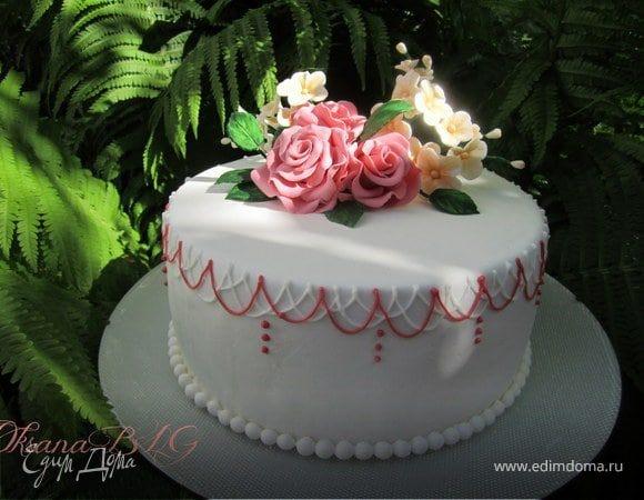 Оформление торта для мамы фото и картинки 014