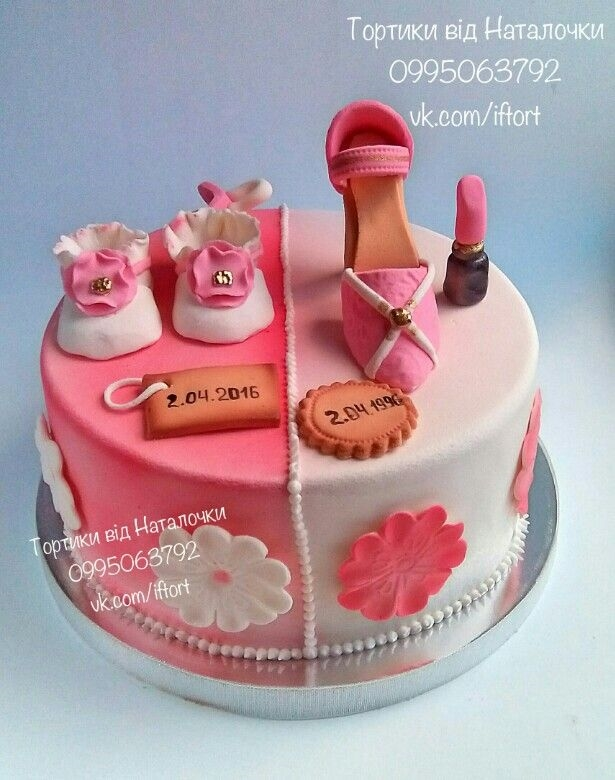 Оформление торта для мамы фото и картинки 015