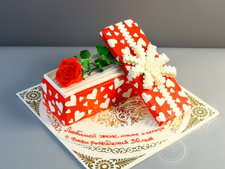 Оформление торта для мамы фото и картинки 016