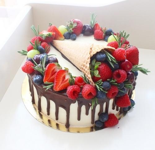 Оформление торта для мамы фото и картинки 017
