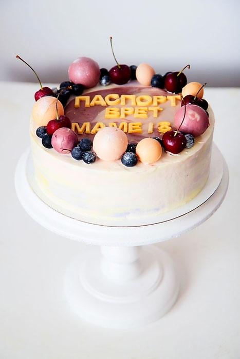 Оформление торта для мамы фото и картинки 020