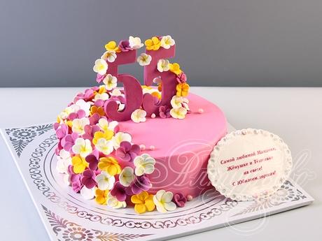 Оформление торта для мамы фото и картинки 025