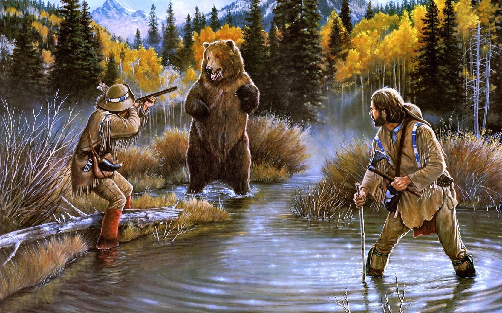 Картинки на тему охотник