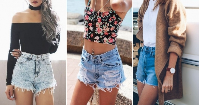 Очень короткие женские шорты фото   подборка 003