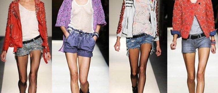 Очень короткие женские шорты фото   подборка 006