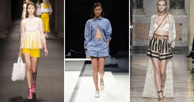 Очень короткие женские шорты фото   подборка 007