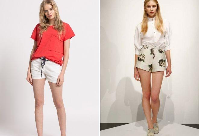 Очень короткие женские шорты фото   подборка 012