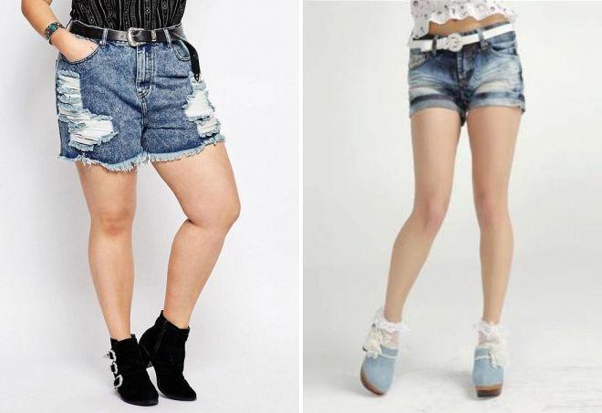 Очень короткие женские шорты фото   подборка 015