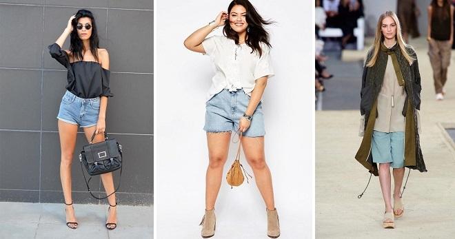 Очень короткие женские шорты фото   подборка 016