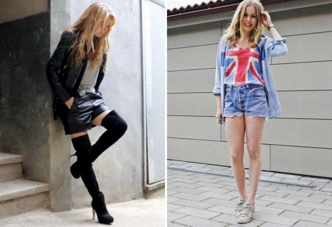 Очень короткие женские шорты фото   подборка 019