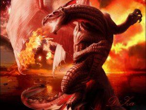 Очень красивые картинки драконов   подборка 029