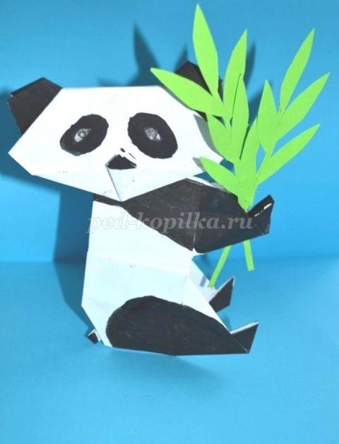 Панда поделки красивые картинки и фото024